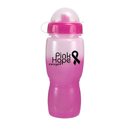 Customized Mood Poly Saver Mate Bottle - 18 oz