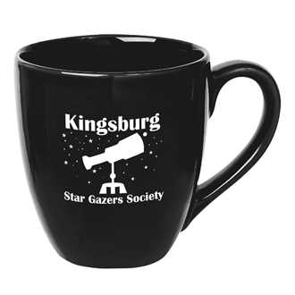 Customized 14 Oz Bistro Mug