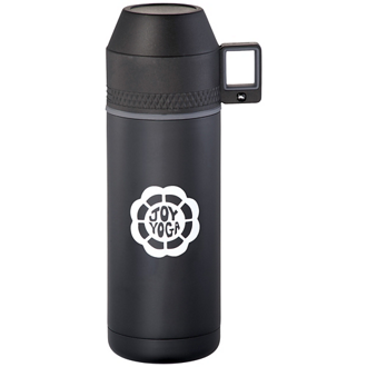 Customized High Sierra Blackout Vacuum Bottle