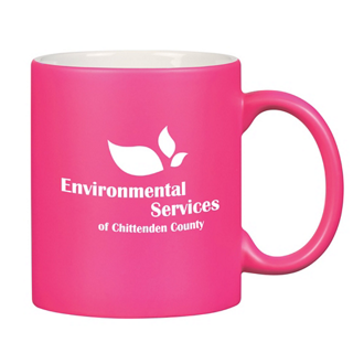 Customized Neon Mug with C-Handle - 11 oz