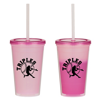 Customized Econo Color Changing Tumbler - 16 oz