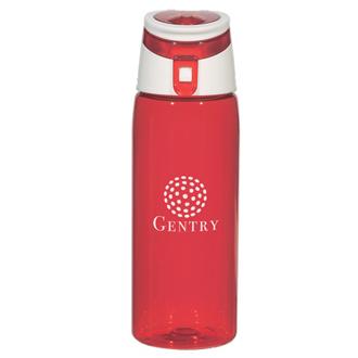 Customized Flip Top Sports Bottle - 24 oz
