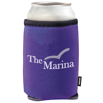Customized Summit Collapsible KOOZIE® Can Kooler