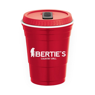 Customized Game Day Cup with Lid - 16 oz