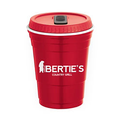Customized Game Day Cup with Lid 16 Oz
