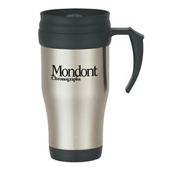 Customized Stainless Steel Travel Mug-Slide Action Lid - 16oz