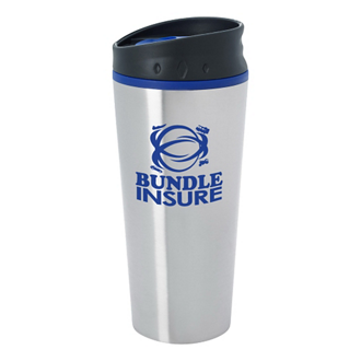 Customized Stainless Steel Diamond Mug - 15 oz
