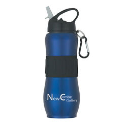Customized Stainless Steel Sport Grip Bottle - 28 oz