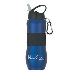 Customized Stainless Steel Sport Grip Bottle - 28 oz