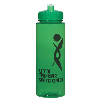 Customized Hydroclean™ Sports Bottle with Push/Pull Lid-32 oz