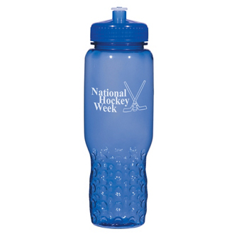 Customized Hydroclean™ Sports Bottle w/ Groove Grippers-32 oz