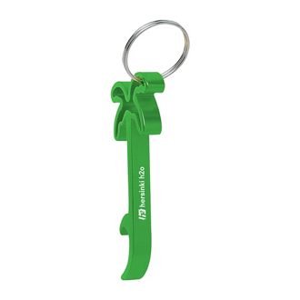 Customized Palm Tree Bottle Opener Key Ring