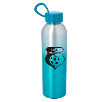 Customized Aluminum Chroma Bottle - 21 Oz