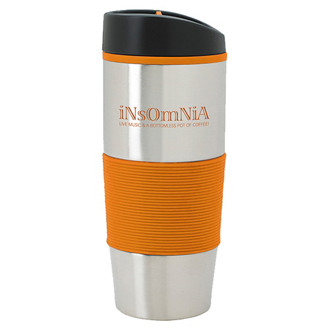 Customized Color Grip Tumbler - 18 oz
