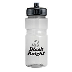 Customized Translucent Recreation Bottle (Push Pull Lid)