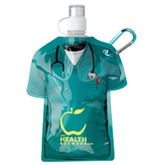 Customized Medical Scrubs Water Bottle