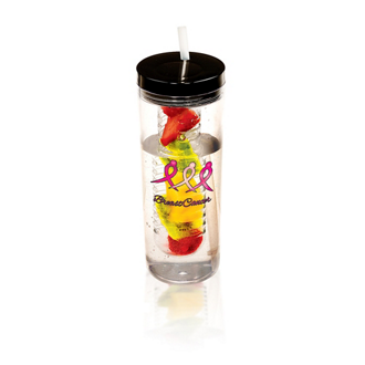Customized Thirstinator Sipper Tumbler with Infuser