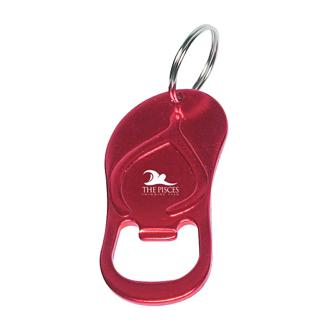 Customized Sandal Bottle Opener Key Ring