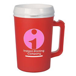 Customized Thermo Insulated Mug - 34 oz
