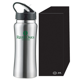 Customized The Clear Spout Stainless Sports Bottle - 16 oz