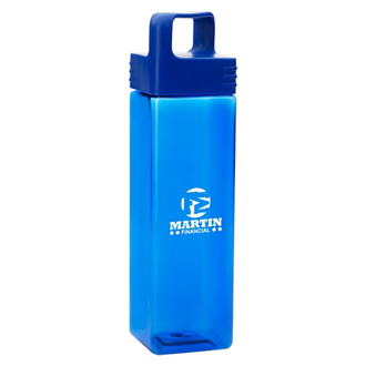 Customized Square Bottle - 27 oz