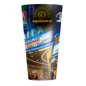 Customized ThermoServ Flair Tumbler with Sublimation - 20 oz