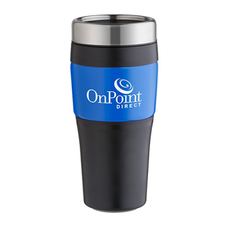 Customized No-Slip-Grip Tumbler - 16 Oz