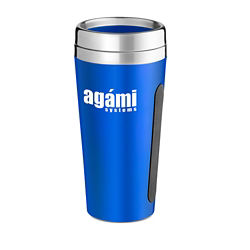 Customized Dual-Grip Travel Tumbler - 15 oz