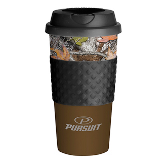 Customized Wake-Up Classic Coffee Cup - 16 Oz