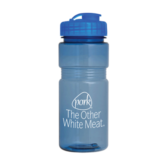 Customized Translucent Recreation Bottle - 20 oz
