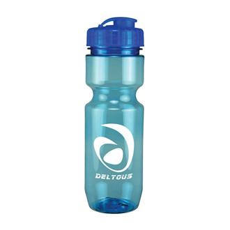 Customized Translucent Bike Bottle - 22 oz