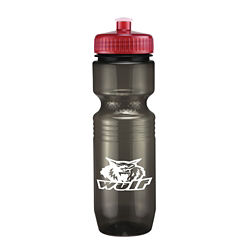 Customized Translucent Jogger Bottle-Push/Pull Lid - 26 oz