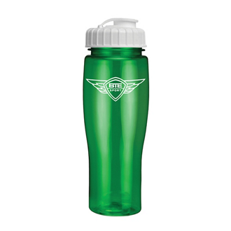 Customized Translucent Contour Bike Bottle - 24 Oz
