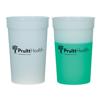 Customized Color Changing Mood Stadium Cup - 22 Oz