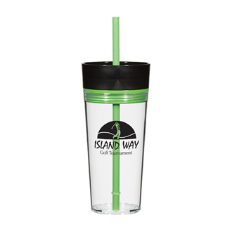 Customized Double-Walled Aurora Tumbler - 16 Oz