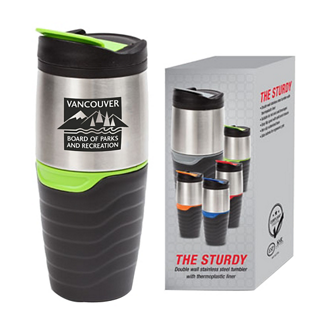 Customized The Sturdy 16 oz Double Wall SS Tumbler
