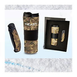 Customized The Camo Collection-Tumbler & Utility Knife