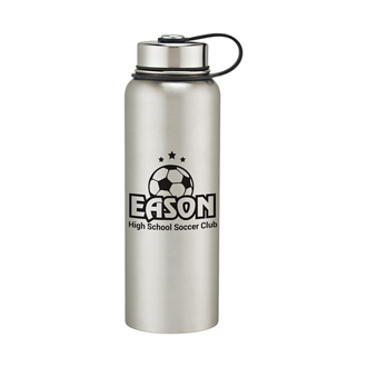 Customized Stainless Steel Bottle - 40 oz