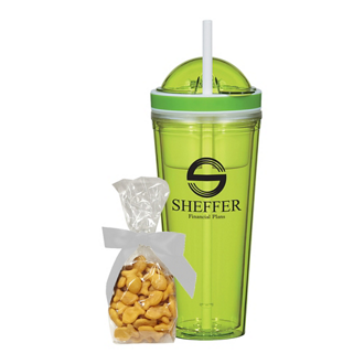 Customized Snack Attack Tumbler with Stuffer