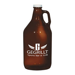 Customized Amber Malt Growler - 64 oz