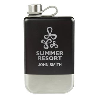 Customized Maverick Flask - 8 oz