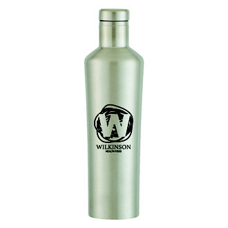 Customized Dwindle Stainless Steel Bottle - 18 oz