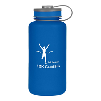 Customized Tritan Hydrator Wide Mouth Sports Bottle - 32 oz