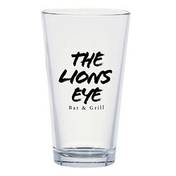 Customized Classic Ale Pint Glass - 16 oz