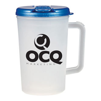 Customized Double Wall Tumbler with Handle - 34 oz