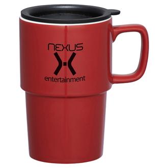 Customized Contra Ceramic Mug - 17 oz