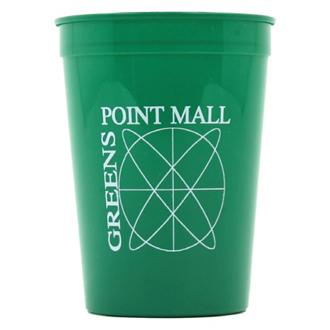Customized Smooth Stadium Cup - 12 Oz