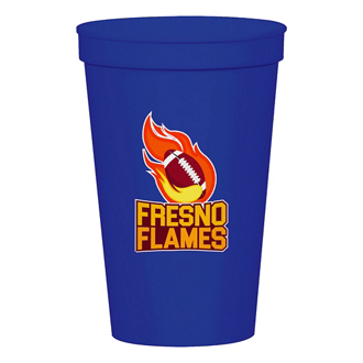 Customized Full Color Stadium Cup - Colors - 12 oz