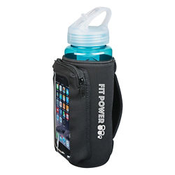 Customized Neoprene Bottle Kooler with Phone Holder