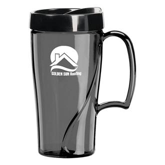 Customized Arrondi™ Travel Mug - 16 oz
